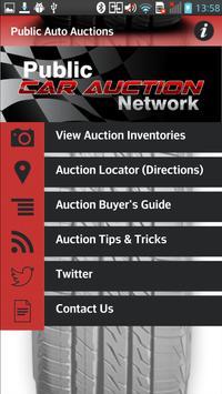 Public Auto Auctions 1 تصوير الشاشة