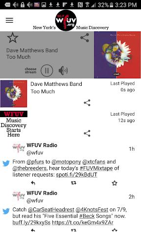 WFUV 1 تصوير الشاشة