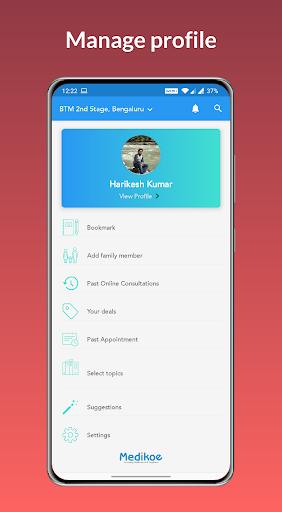 Medikoe- Book Doctor Appointments & Healthcare App screenshot 8