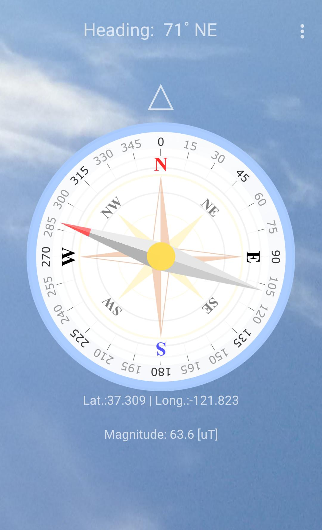 Easy North South Compass screenshot 1