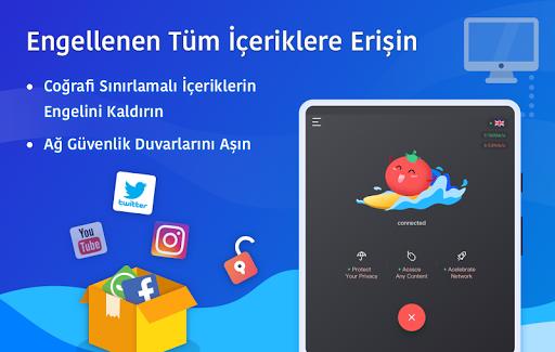 Ücretsiz VPN Tomato | En Hızlı Ücretsiz VPN Proxy screenshot 8