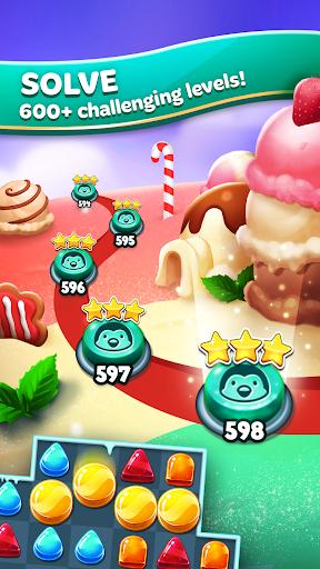 Frozen Frenzy Mania – Match 3 3 تصوير الشاشة
