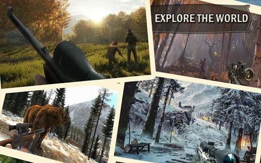 Sniper Animal Shooting 3D:Wild Animal Hunting Game screenshot 1