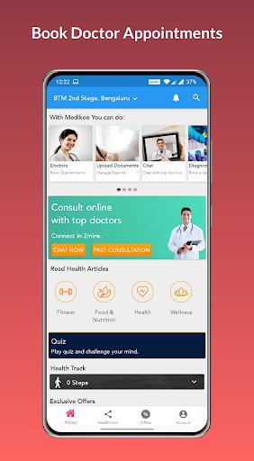 Medikoe- Book Doctor Appointments & Healthcare App screenshot 1