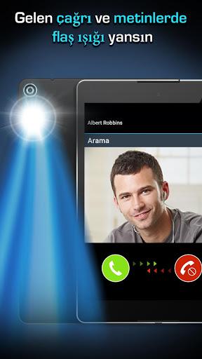 Flaş LED'i - Çağrı, SMS'e screenshot 5