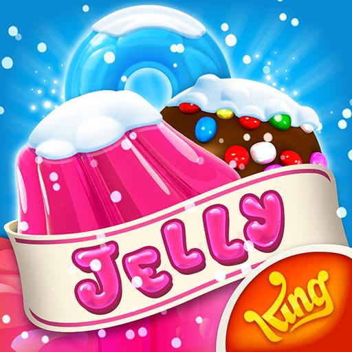 Candy Crush Jelly Saga أيقونة