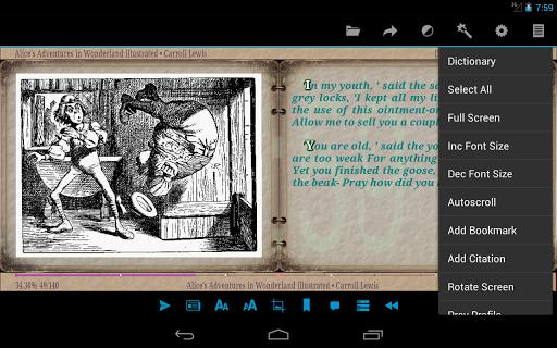 AlReader -any text book reader screenshot 14