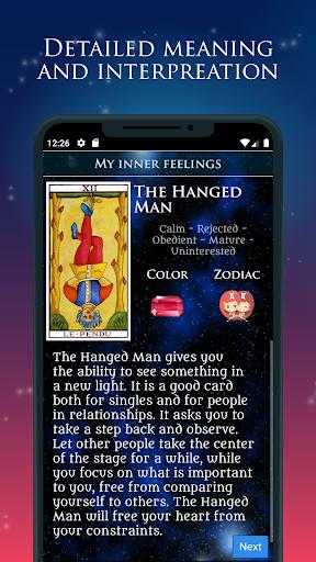 Tarot of Love - Free Tarot Cards Reading screenshot 1