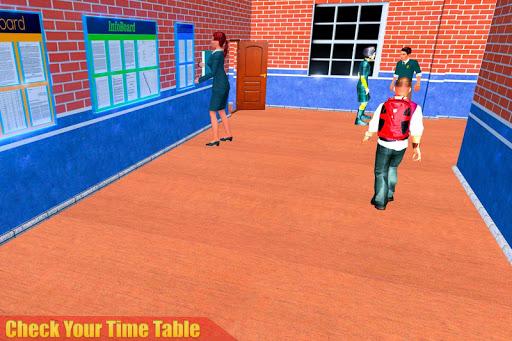 الظاهري مدرسة ثانوية المعلم 3D 10 تصوير الشاشة