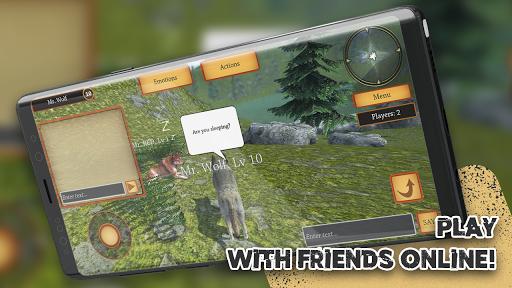 Wolf Simulator Evolution screenshot 2