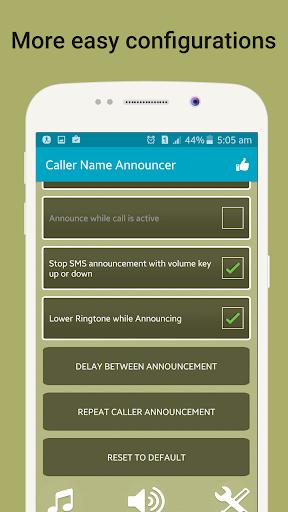 المتصل اسم المذيع،فلاش على الدعوة والرسائل القصيرة 4 تصوير الشاشة