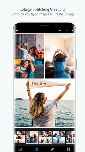 Adobe Photoshop Express:Photo Editor Collage Maker screenshot 2