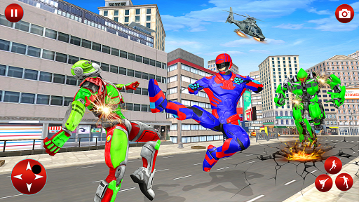 Superhero Robot Speed: Super Hero Game screenshot 6