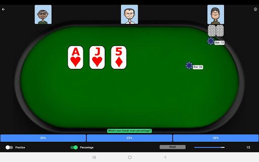 Poker Trainer - Poker Training Exercises 11 تصوير الشاشة