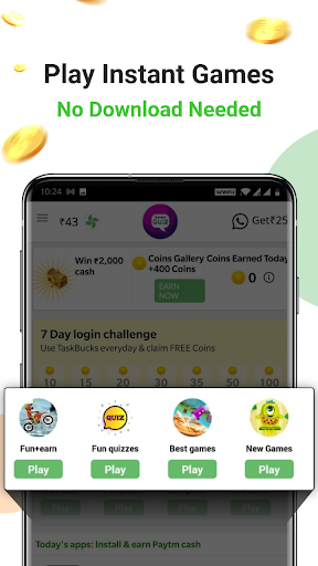Earn free paytm cash daily | Free recharge 6 تصوير الشاشة
