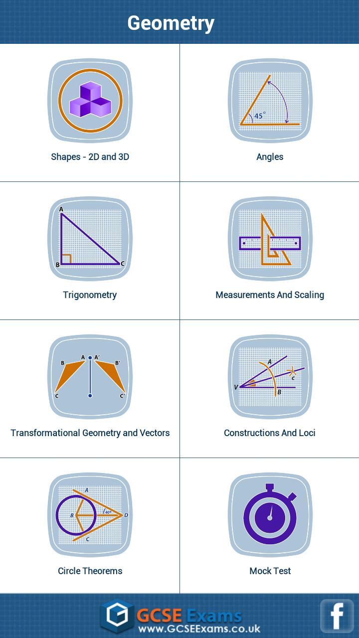 GCSE Maths Geometry Revision L screenshot 1