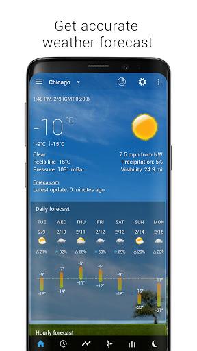 Sense Flip Clock & Weather screenshot 3