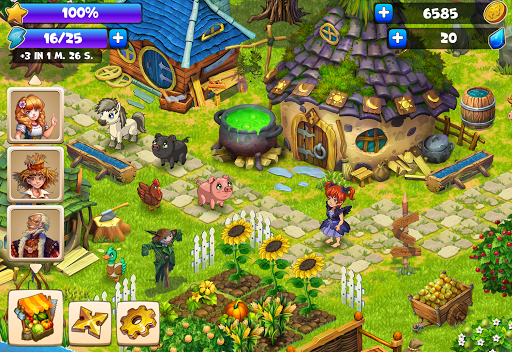 Farmdale: farming games & township with villagers screenshot 13