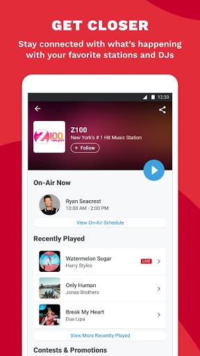 iHeartRadio: Radio, Podcasts & Music On Demand 6 تصوير الشاشة