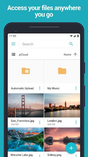 pCloud: Free Cloud Storage screenshot 1