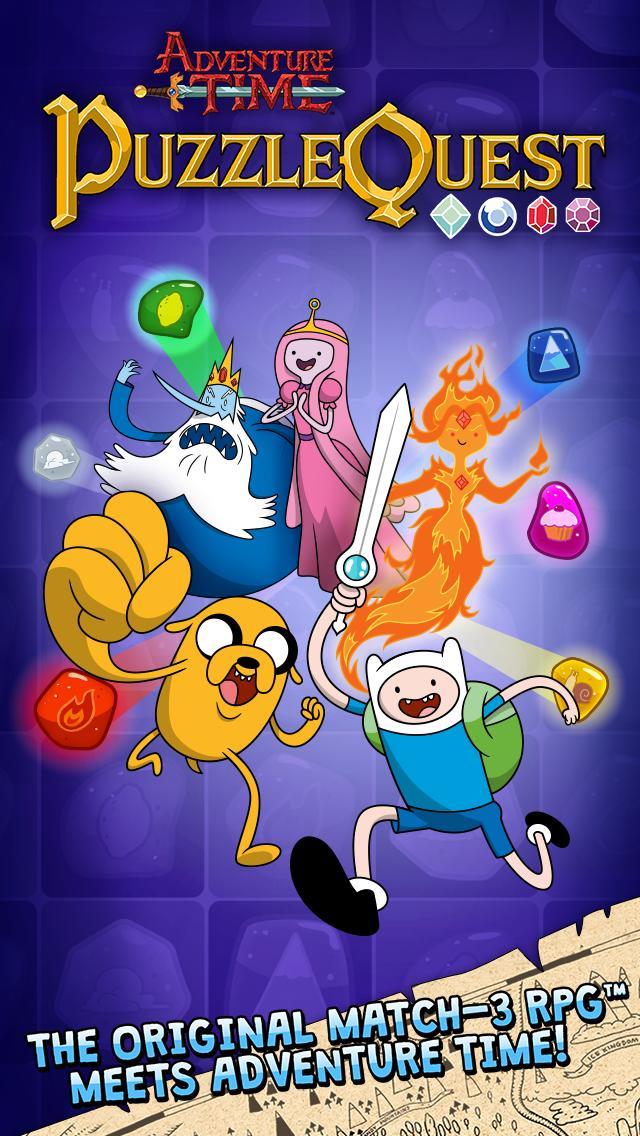 Adventure Time Puzzle Quest 1 تصوير الشاشة