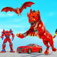 Lion Robot Car Game 2021 – Flying Bat Robot Games on APKTom