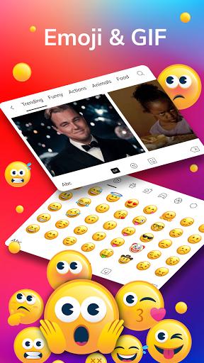 LED Lighting Keyboard - Emojis, Fonts, GIF screenshot 13