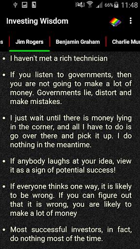 Investing Wisdom 3 تصوير الشاشة