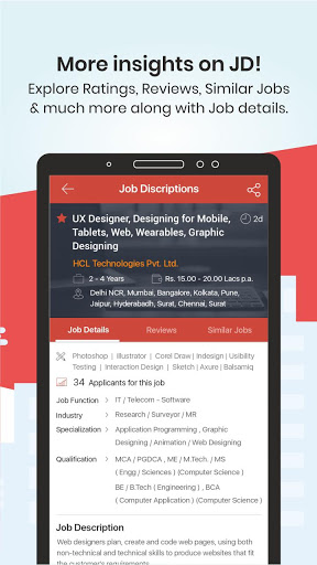 TimesJobs - Job Search and Career Opportunities screenshot 8