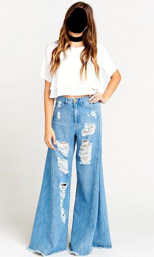 Girls Jeans Photo Suit screenshot 13