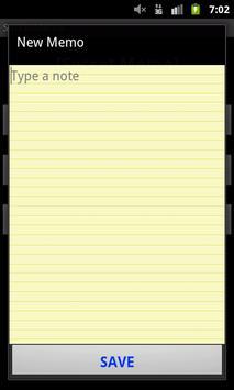 Secret Memo(Free note) screenshot 3
