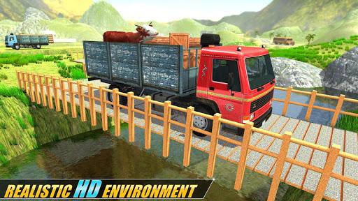 Indian Real Cargo Truck Driver -New Truck Games 21 screenshot 5