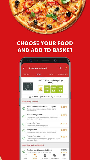 Yemeksepeti - Order Food & Grocery Easily screenshot 4