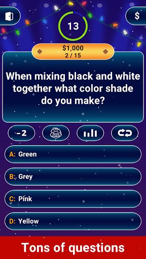 Millionaire 2021 -  Free Trivia Quiz Offline Game screenshot 1
