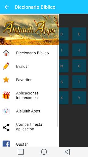 Spanish Bible Dictionary 2 تصوير الشاشة
