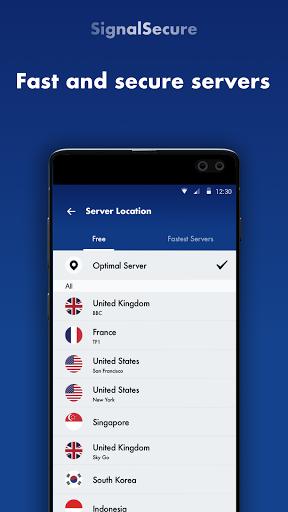 Signal Secure VPN -Fast VPN Proxy & VPN Robot screenshot 2