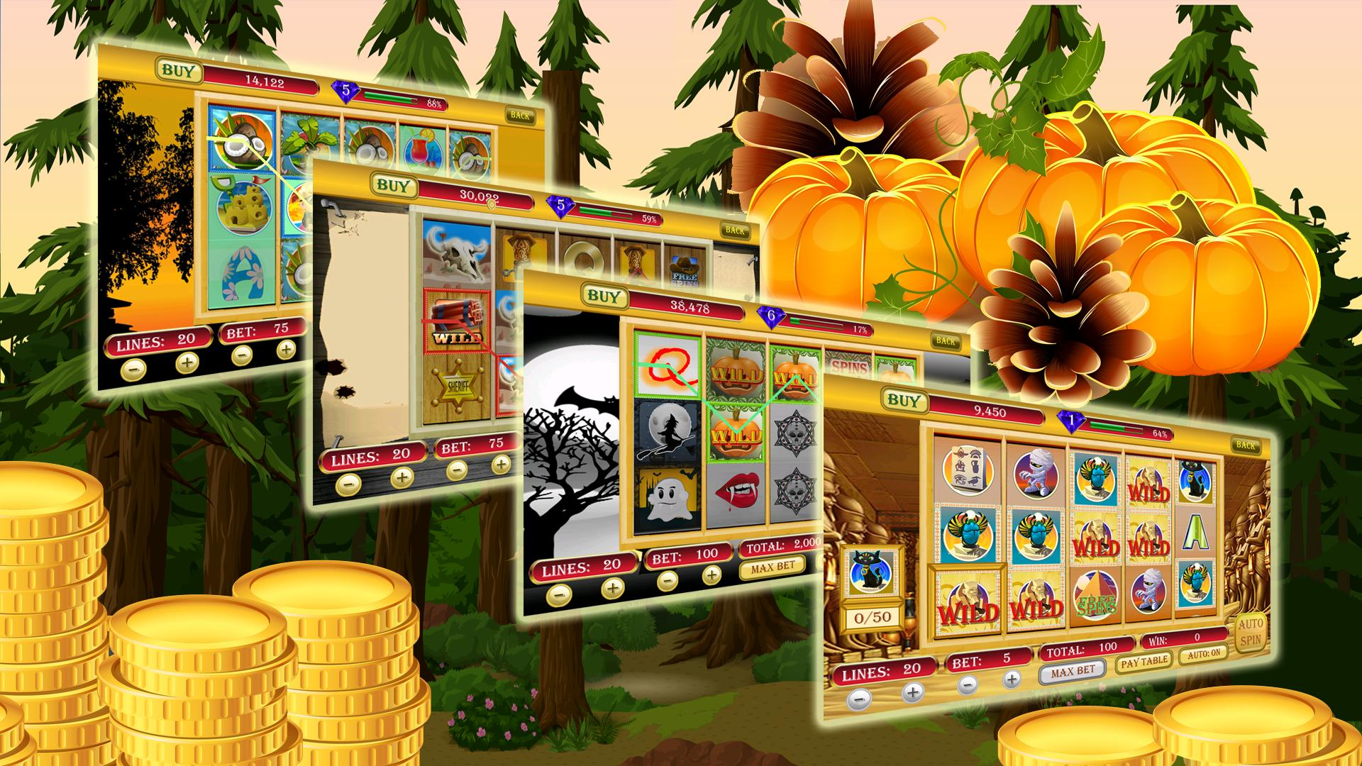 Thanksgiving Slots 2 تصوير الشاشة