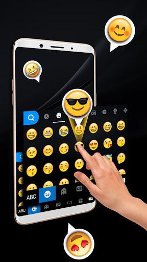 Classic Business Black Keyboard Theme screenshot 4