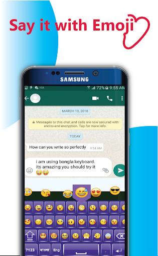 Bangla Language keyboard 2020: Bangla Keyboard app screenshot 3