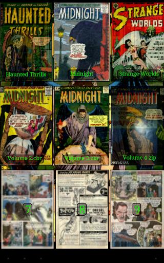 Challenger Comics Viewer 22 تصوير الشاشة
