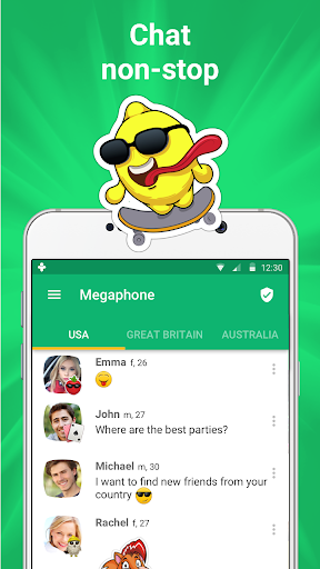 Get new friends on local chat rooms screenshot 1