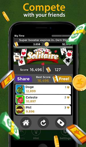 Solitaire - Make Free Money and Play the Card Game screenshot 5