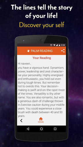 Palm Reading 5 تصوير الشاشة