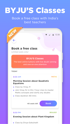 BYJU'S – The Learning App screenshot 2