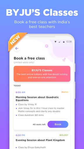 BYJU'S – The Learning App 2 تصوير الشاشة