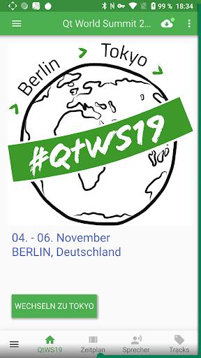 Qt World Summit 2019 Conference App screenshot 1