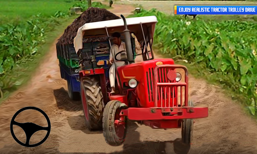 Tractor Trolley: Offroad Driving Tractor Trolley screenshot 2