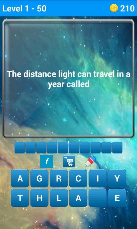 Space Quiz screenshot 1