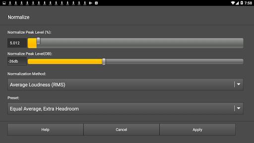 WavePad Audio Editor Free screenshot 6