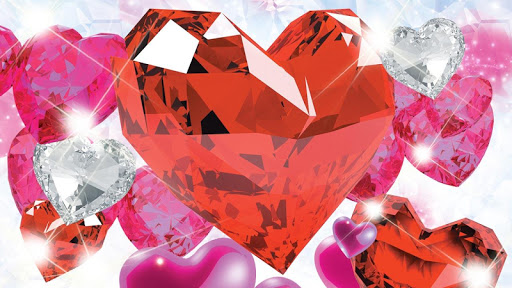 Diamond Hearts Live Wallpaper screenshot 8